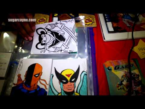 Wilson Ramos Of Section 8 Comics On CAC-TV