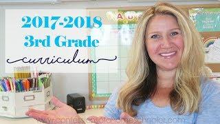 2017-2018 3rd Grade Homeschool Curriculum
