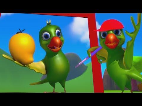 Main Tota Hindi Rhymes | Hindi Poems | मैं तोता मैं तोता | Hindi Balgeet For Kids | Kids Tv India