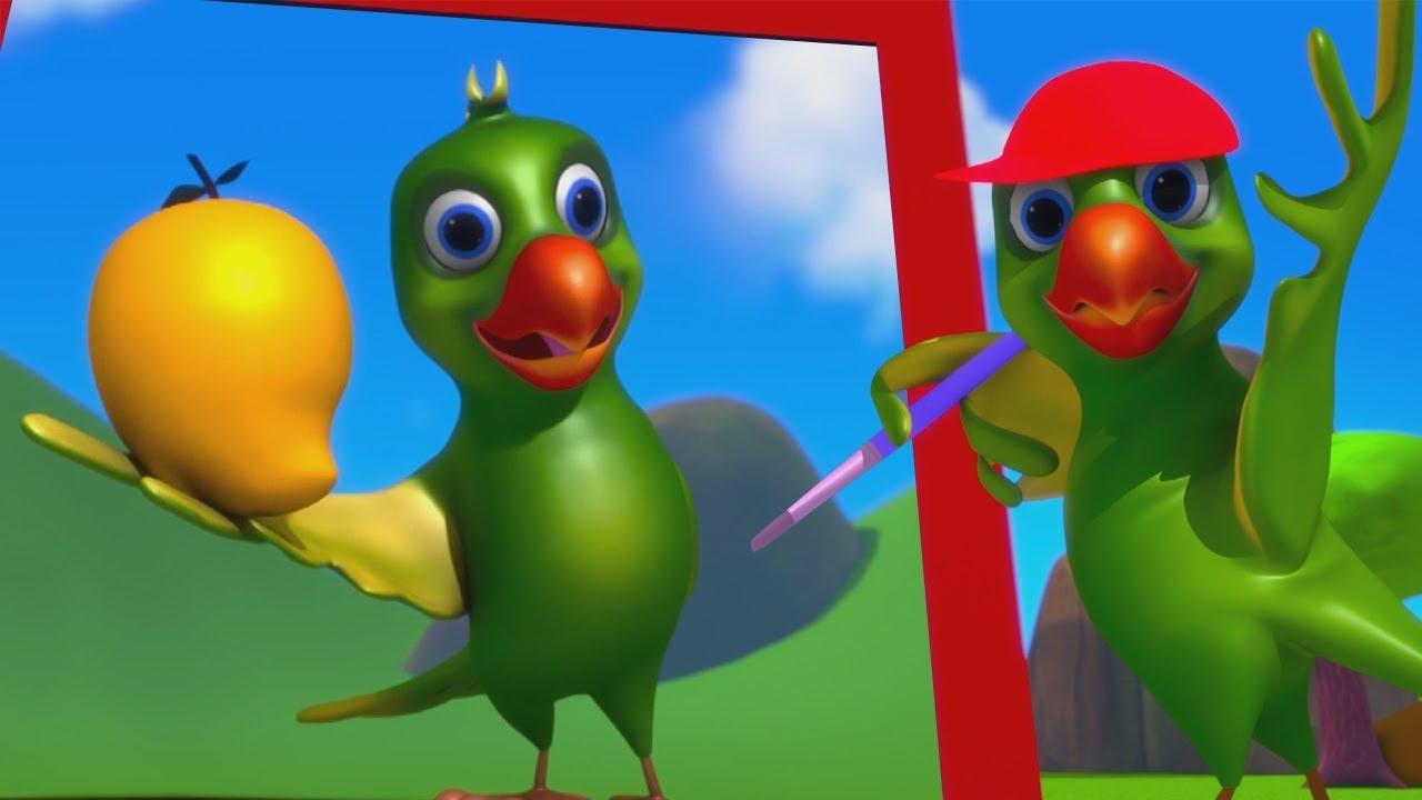 Download Main Tota Hindi Rhymes   Hindi Poems   मैं तोता मैं तोता   Hindi Balgeet For Kids   Kids Tv India