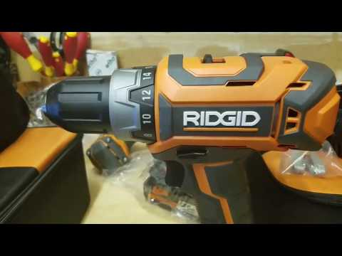 RIDGID 18-Volt Lithium-Ion 1/2 in. Cordless Compact Drill/Driver in Action (R860053)