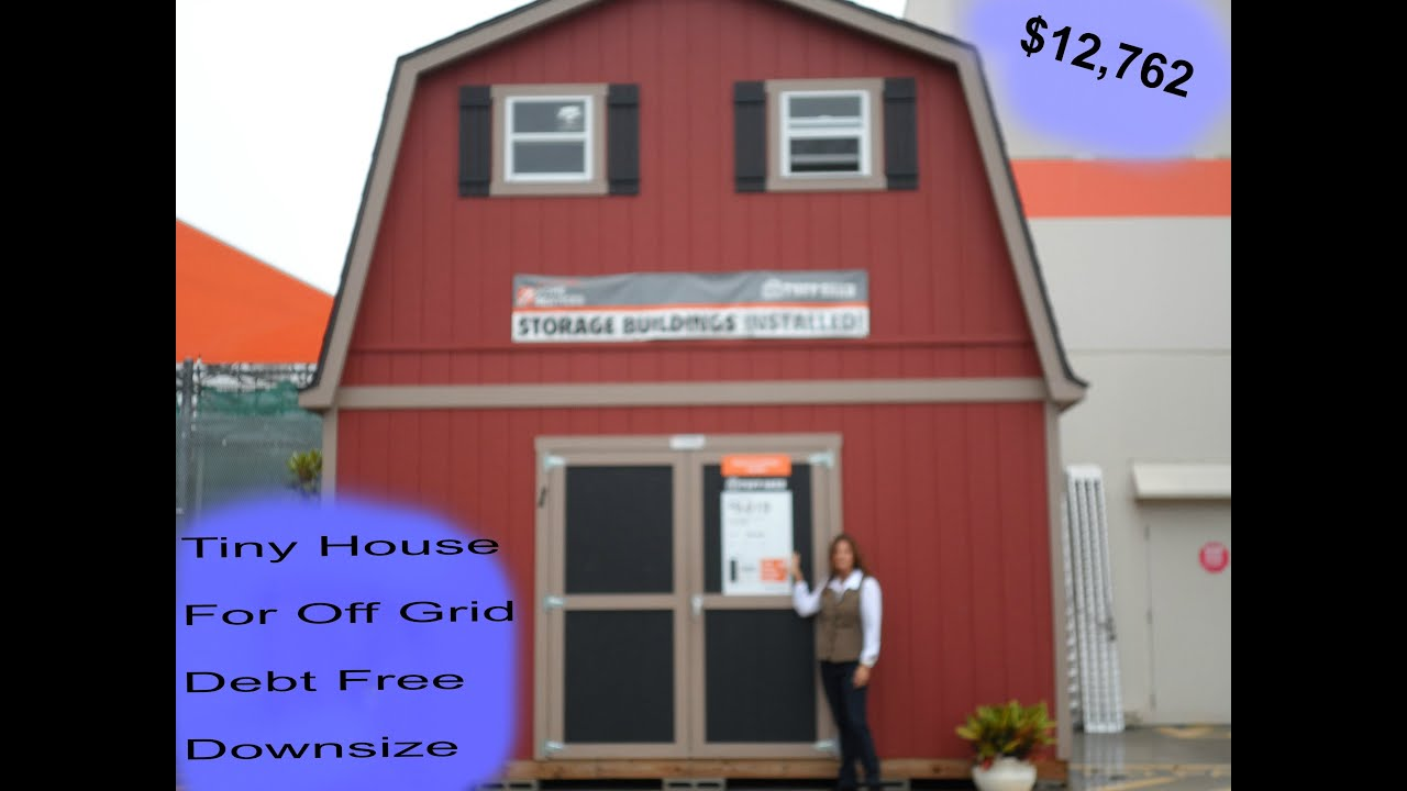 2 floor shed house for debt free living with plenty of for Building a barn to live in