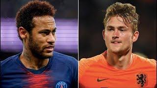 Barcelona News Round-up ft De Ligt & Neymar - Transfer Latest