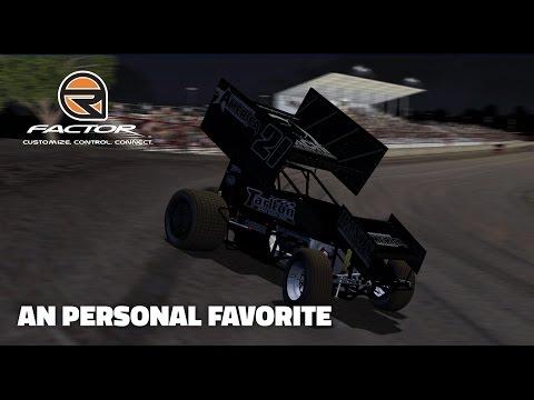 rFactor: A Personal Favorite (410 Sprintcars @ Silver Dollar)