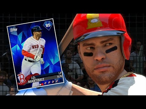 DIAMOND JD MARTINEZ DEBUT!! MLB THE SHOW 18 DIAMOND DYNASTY