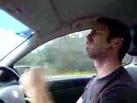 Guy sings and dances along to Queen song 'Flash' - HILARIOUS!