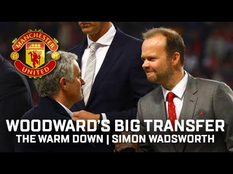 Woodward Wants A Big Transfer! | The Warm Down Podcast | Manchester United Author Simon Wadsworth