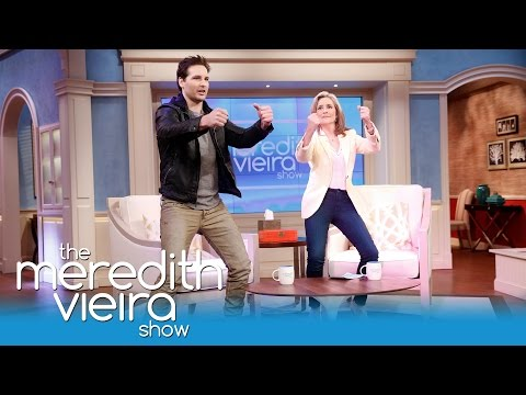 Peter Facinelli s Off His Dance Moves!  The Meredith Vieira