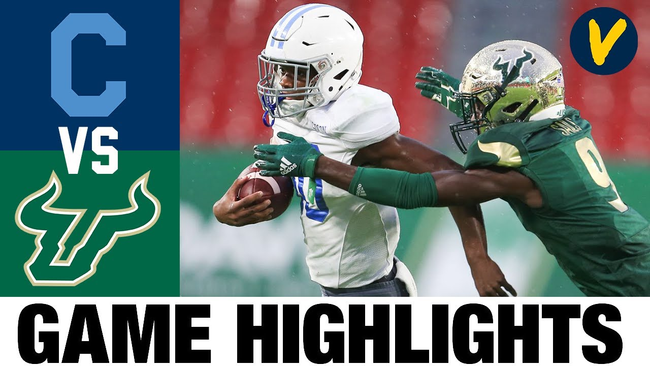 The Citadel vs USF Highlights | Week 2 College Football Highlights | 2020 College Football