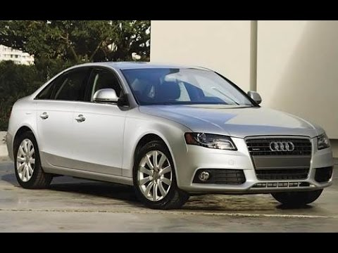 2011 Audi A4 Start Up and Review 2.0 L Turbo 4-Cylinder