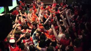 LiverpoolFC vs manchester city 13/04/14 Cheers Bar Sydney Australia