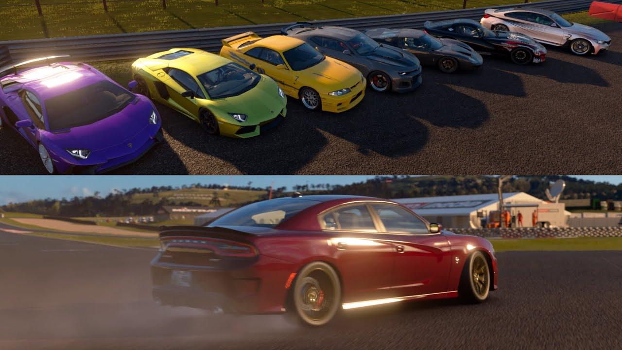 GT Sport | Park & Chill Car Meet/Exits
