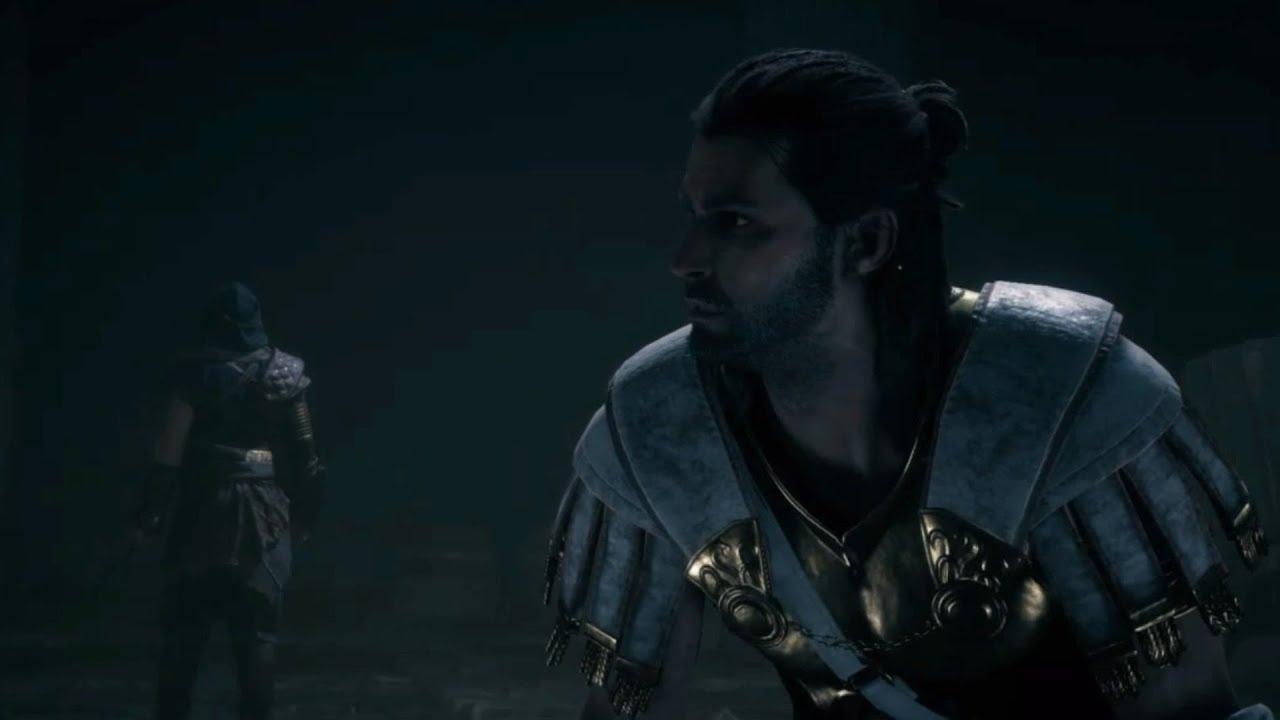 Darius Boss Fight Assassin S Creed Odyssey Youtube