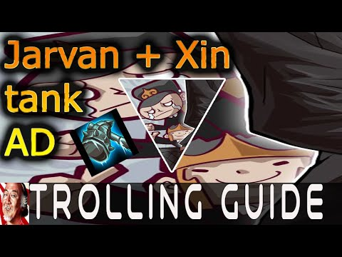 #LOL#Toll#League Trolling Guide Jarvan Xin Duo