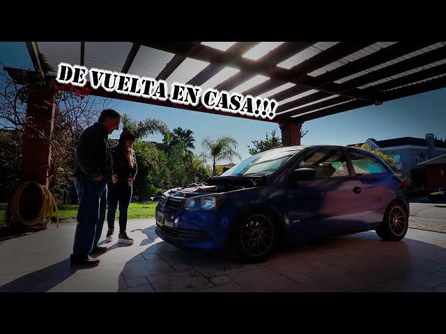 EL GOLCITO SALE A LA CALLE || Gol Trend VR6 3.2 SWAP
