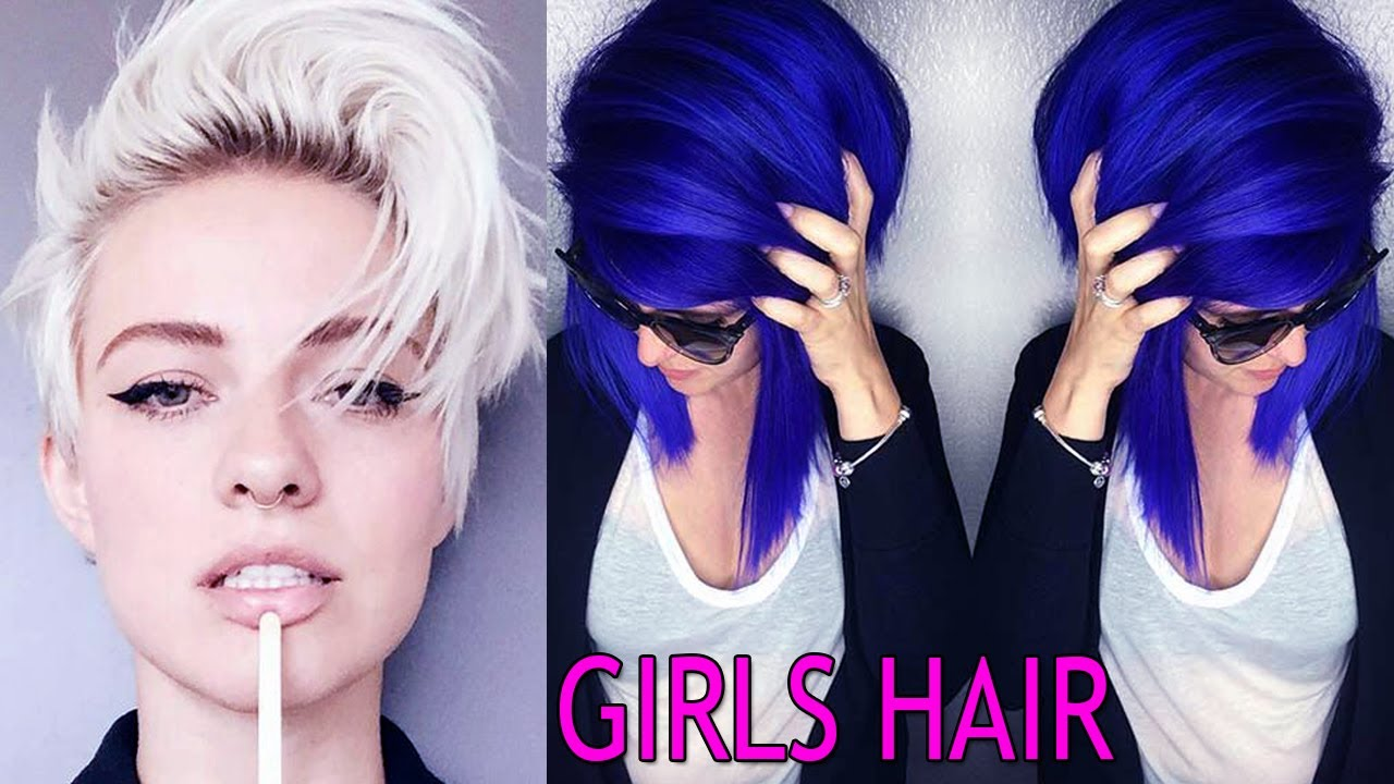 Hair Style U Cut: COOL SHORT HAIRCUTS FOR GIRLS ★ GIRLS WITH SHORT HAIR