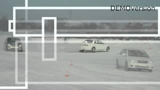 Обучение на зимнем автодроме НЦВВМ