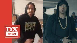 Eminem Responds To Comedian Chris D'Elia Eminem Impersonations & Parodies