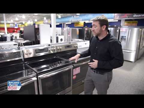 Appliance Factory Reviews: GE Electric range JB750