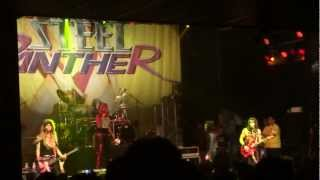 STEEL PANTHER with MEMBERS OF BLACK VEIL BRIDES YOU REALLY GOT ME HOUSE OF BLUES 11/26/2012