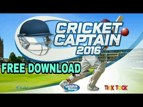 How to download Cricket Captain 2016 for android