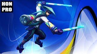 HoN Pro Swiftblade Gameplay - KAGE`BUNSHIN - Legendary