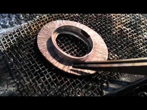 Silver Pendant Fabrication - Silversmith by Hot Tor Studio