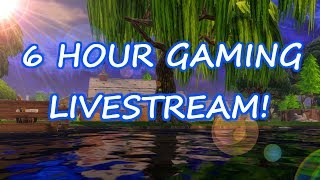 6 HOUR GAMING LIVE STREAM! #ROBLOX