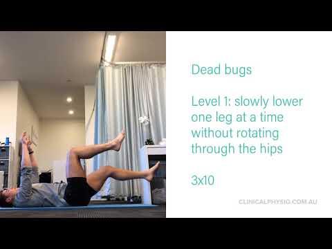 Core & Abdominal exercises