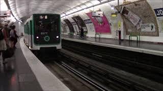 парижское метро, ужас на фоне красот Парижа