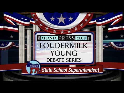 STATE SCHOOL SUPERINTENDENT DEMOCRATIC PRIMARY DEBATE