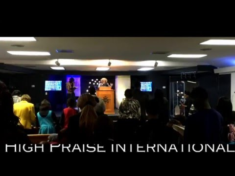 Apostle Mary A. Terry @ High Praise International Revival