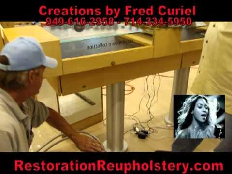 Diamonds Are A Girls Best Friend - Restoration Reupholstery - Fashion Island - Stuart Moore