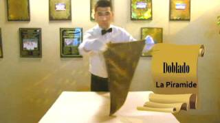 Juan José Vásquez Pittman - El Arte de Atender al Comensal 3 (Doblado de Servilletas)