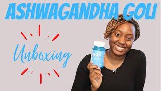 Ashwagandha Goli Gummy Unboxing
