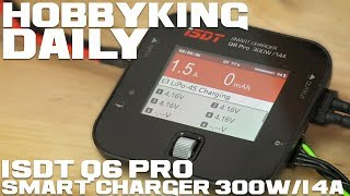 Isdt Q6 Pro Smart Charger 300w / 14a - Hobbyking Daily