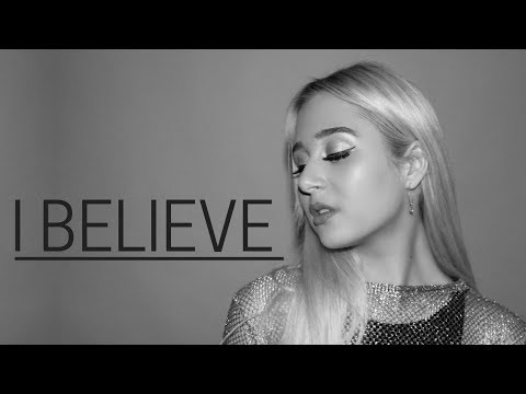 DJ KHALED ft. DEMI LOVATO - I Believe | Cover by Charlotte Hannah (from Disney A Wrinkle In Time)