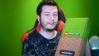 DOSTAŁEM PACZKĘ LEGO MINECRAFT!