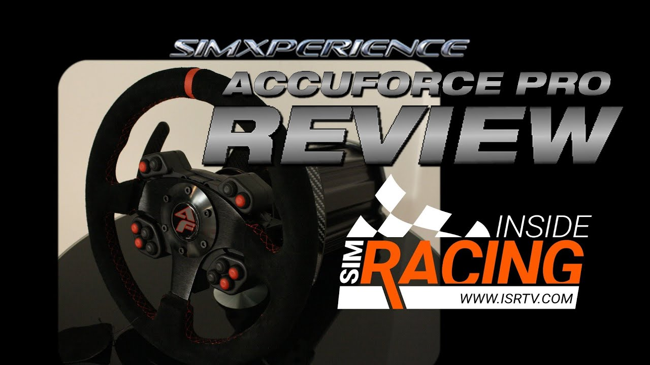 SimXperience AccuForce Pro Simulation Steering System Review