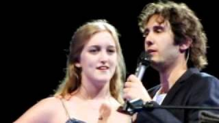 Josh Groban: Answering Crowd Questions/Duet With Sarah (May 16th, Dallas)