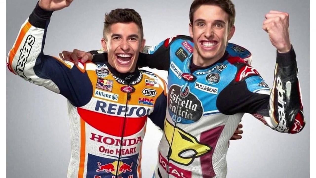 Marquez Panik dominasinya di moto gp terusik kedatangan adiknya MotoGP 2020