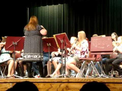 Ranger Middle School Spring Concert 2012