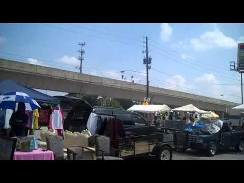 Flea Market in The West End - Lee Street Atlanta, Georgia