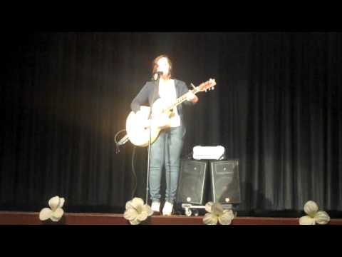 Stay Beautiful (Taylor Swift cover) East Haven HS Talent Show 2011
