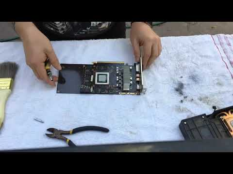 Palit GTX970 clean up