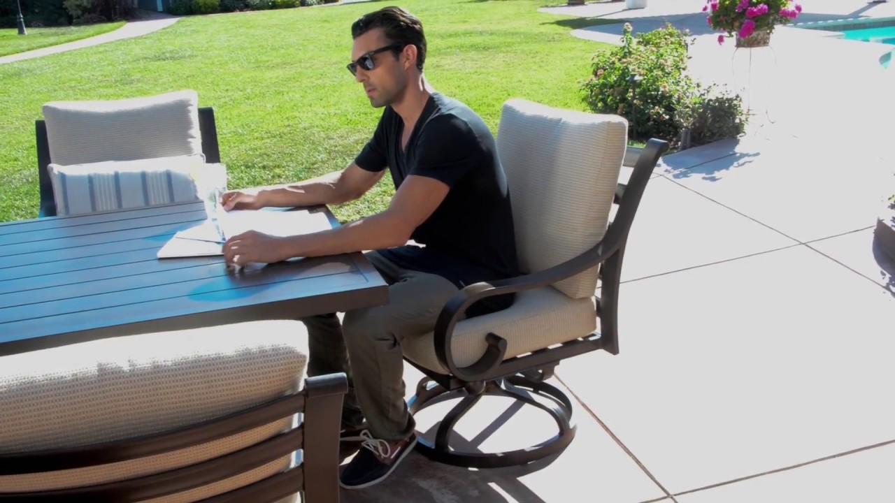 Barcalounger Outdoor Living Columbia Dining Chair Auto ... on Barcalounger Outdoor Living id=49127
