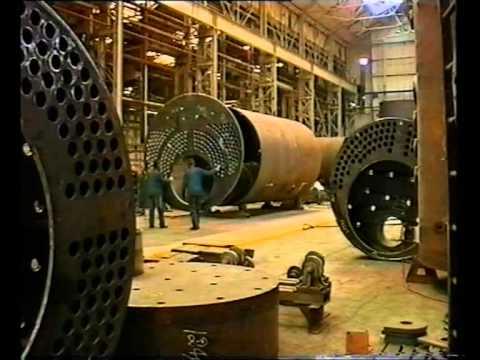 Cochran - Boiler Manufacturing Process - YouTube