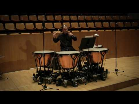 Timpani Orchestral Repertoire (Excerpts): Javier Eguillor, Timpani.