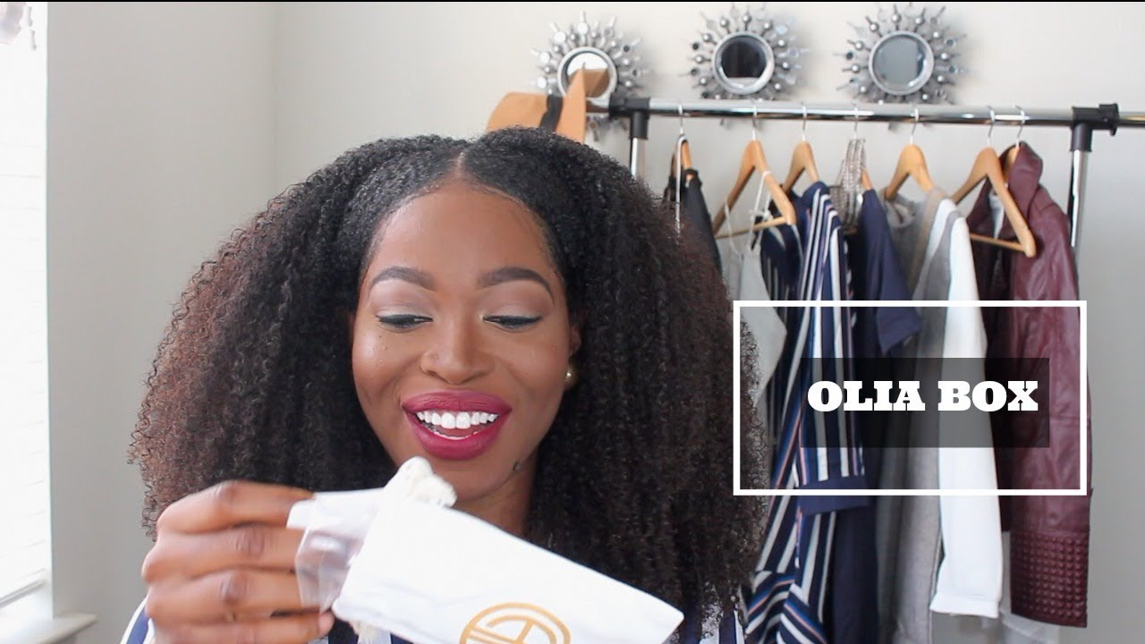 OLIA BOX Review Unboxing Jewelry Subscription box YouTube