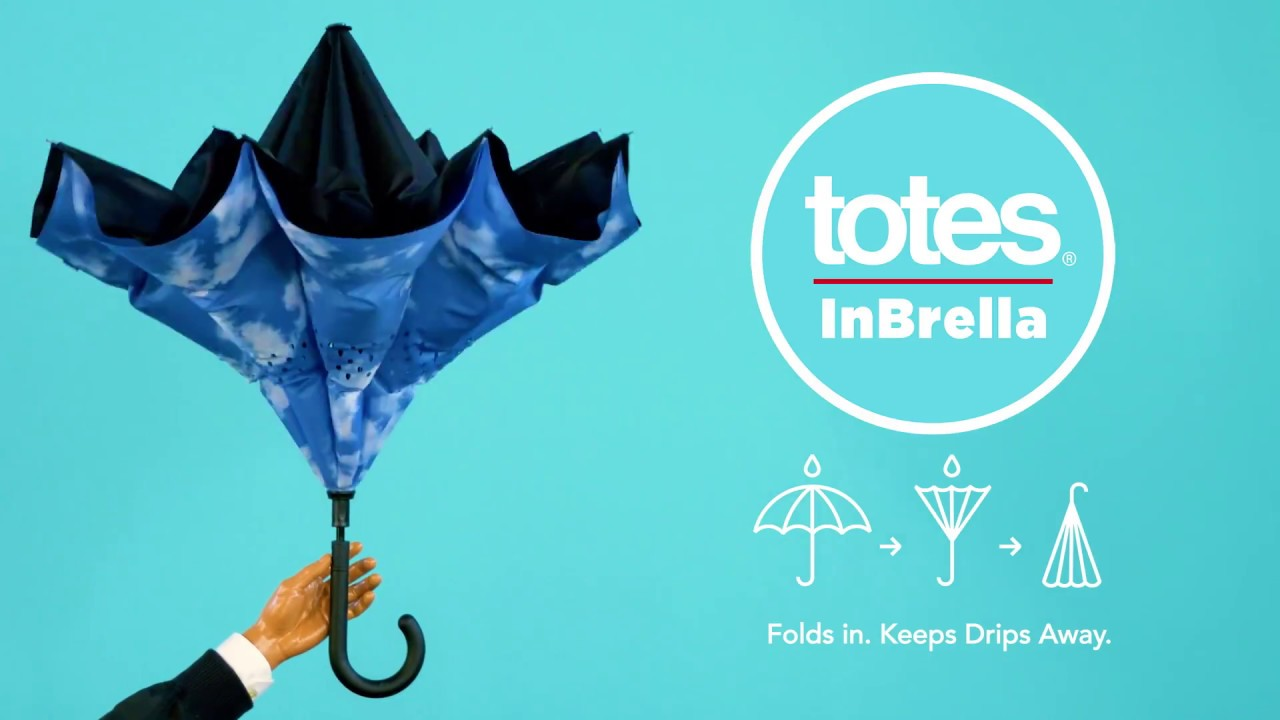 f51f6ca43bac The InBrella Reverse Close Umbrella